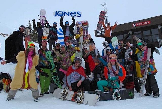 The Alta Snowboard Team