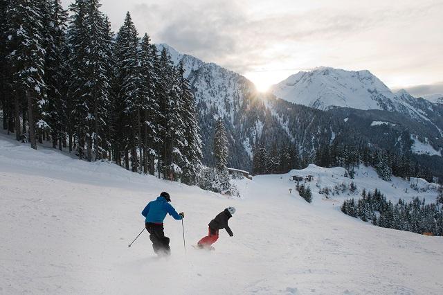 Mayrhofner Bergbahnen Ahorn Valley Run