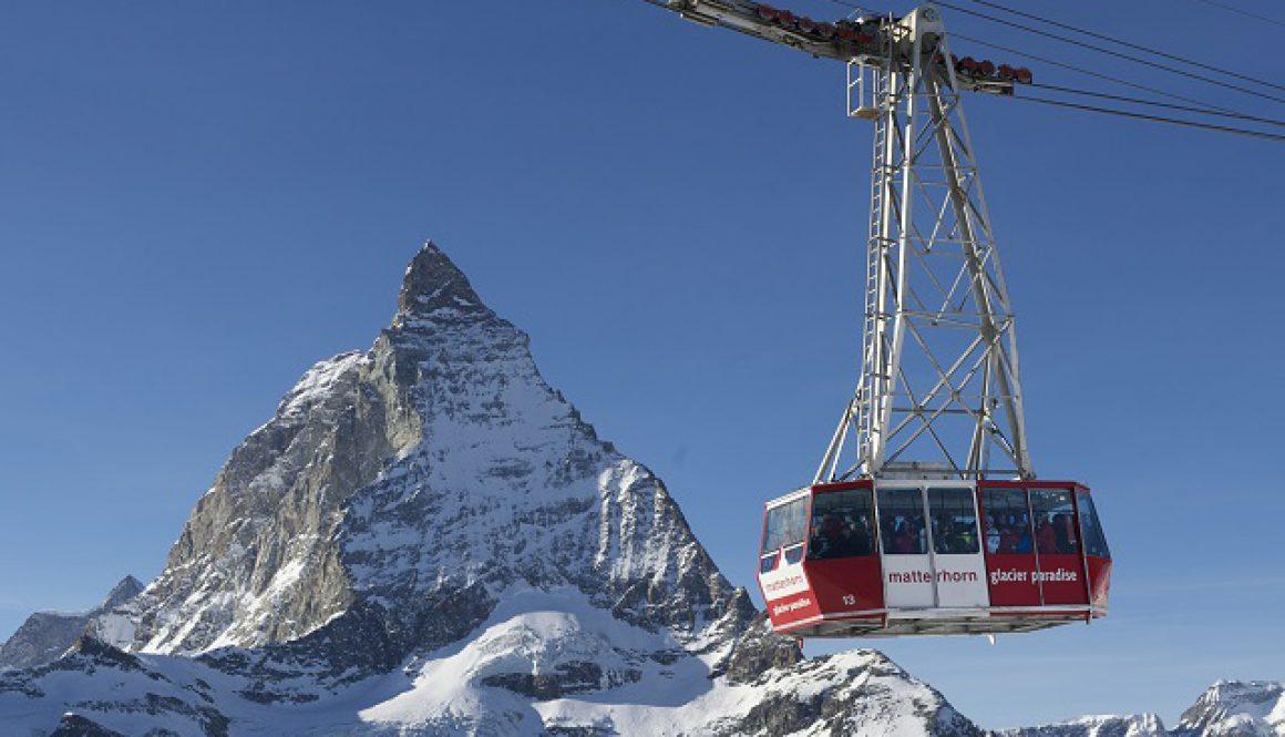Zermatt Matterhorn Paradise cable car