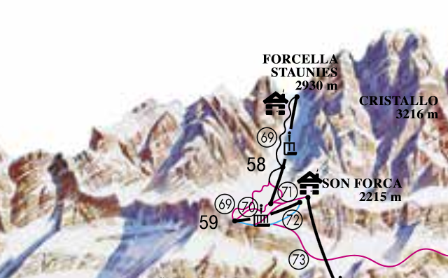 Cortina Forcella Staunies