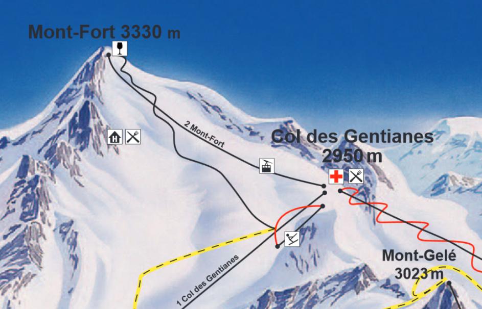Verbier Mont Fort 2