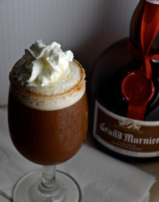 Grand Marnier Coffee isinginthekitchen
