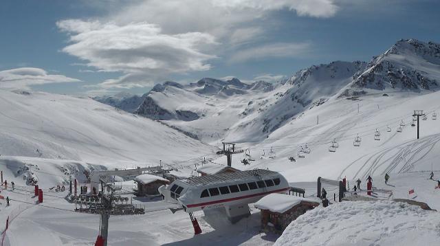 Val dIsere Pisillaillas Glacier 11 03 16
