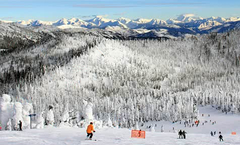 Whitefish Mountain ski holidays 2019 2020 skiing packages