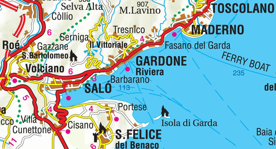 Gardone Riviera Maps SNO