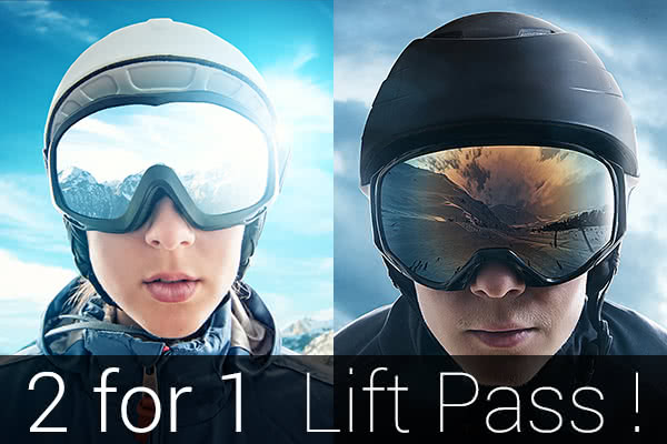 2 for 1 lift pass