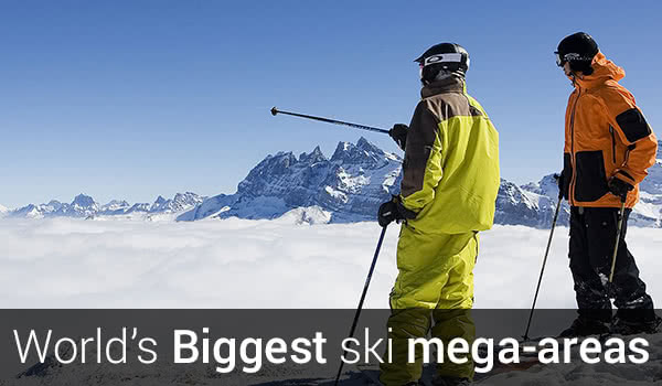 best biggest ski resorts